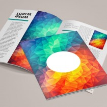 A5 Gloss 115gsm text with Thicker Cover