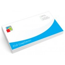 Standard Uncoated Compliment Slips 100gsm