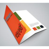 Folded Leaflets (Uncoated Finish)