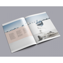 A4 Gloss 115gsm text with Thicker Cover